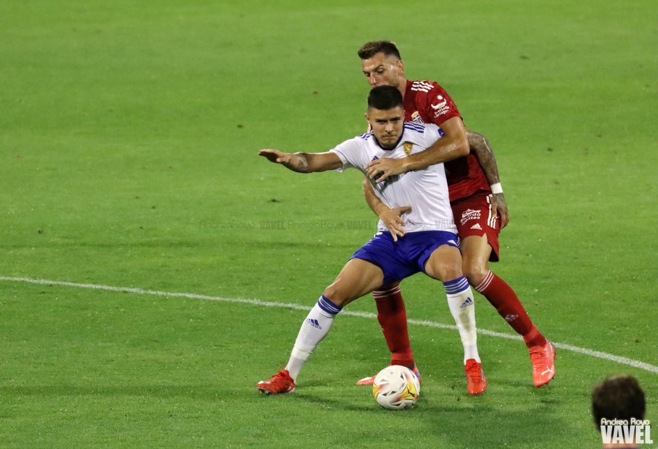 El Real Zaragoza peca su falta de acierto ante el FC Cartagena