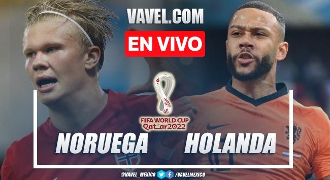 Goles y resumen del Noruega 1-1 Holanda  en Eliminatorias Copa del Mundo 2022
