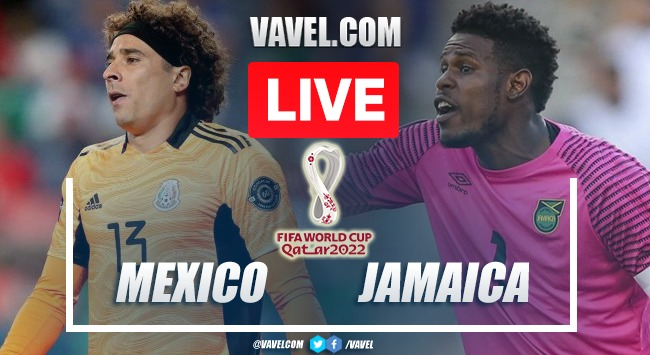 Goals and Highlights: Mexico 2-1 Jamaica in World Cup Qualifiers 2022