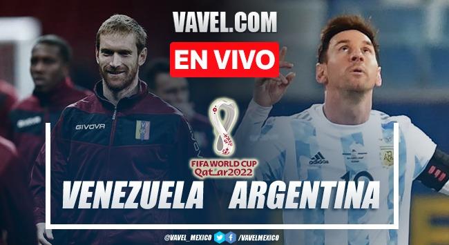 Goles y resumen del Venezuela 1-3 Argentina en Eliminatorias Qatar 2022