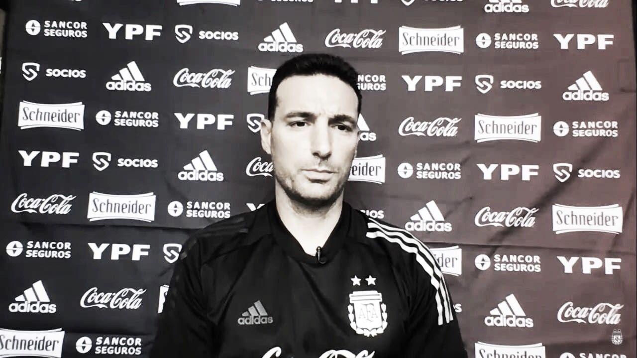 """Scaloni: """"Es un gran desafío clasificar al Mundial"""""""