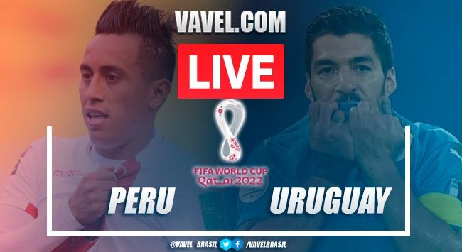 Resumen Perú vs Uruguay en las eliminatorias a Qatar 2022 (1-1)
