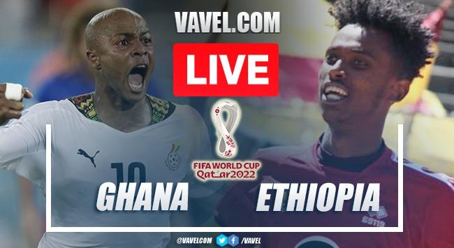 Goals and Highlights: Ghana 1-0 Ethiopia in Qatar Qualifying 2022