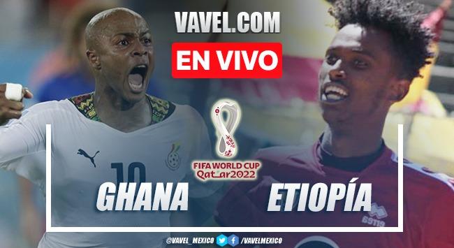 Goles y resumen del Ghana 1-0 Etiopía en Qatar 2022