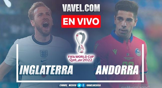 Goles y resumen del Inglaterra 4-0 Andorra en Eliminatorias Copa del Mundo 2022