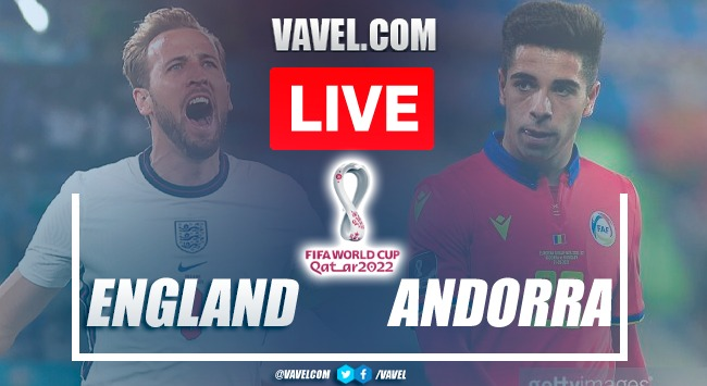 Goals and Highlights: England 4-0 Andorra in World Cup Qualifiers 2022