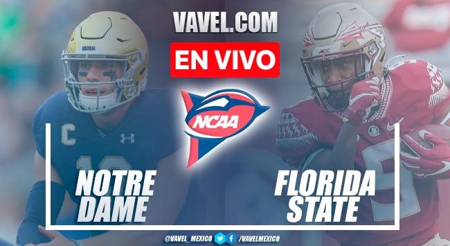 Notre Dame vs Florida State EN VIVO: ¿cómo ver transmisión TV online en NCAAF 2021?