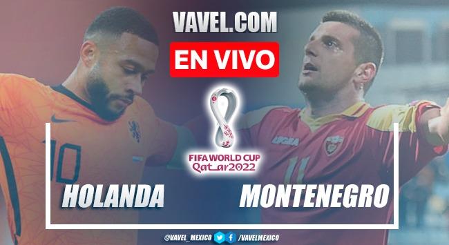 Goles y resumen del Holanda 4-0 Montenegro en Eliminatorias UEFA 2021