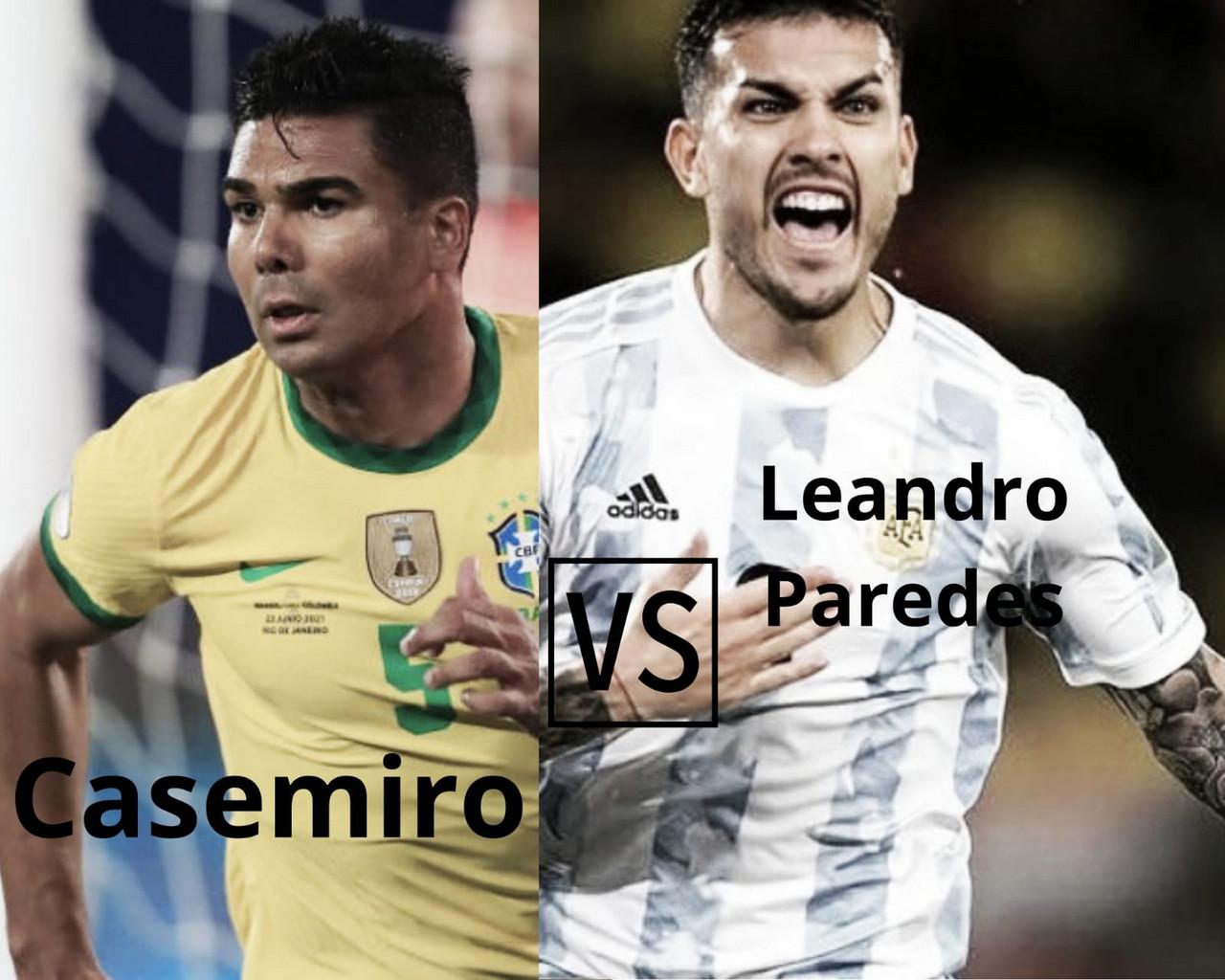 Casemiro vs Paredes: el duelo definitivo