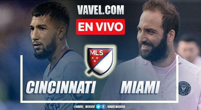 Goles y resumen del Cincinnati 0-1 Inter Miami en MLS 2021