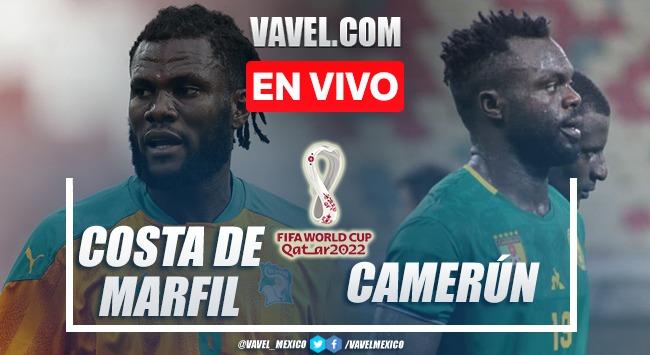 Goles y resumen del Costa de Marfil 2-1 Camerún en Eliminatorias de Qatar 2022