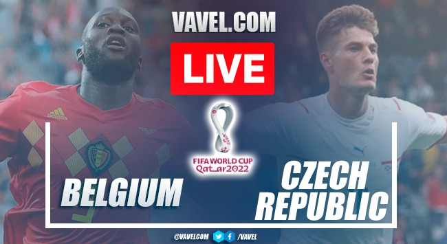 Goals and highlights Belgium 3-0 Czech Republic in Qatar 2022 qualifying rounds
