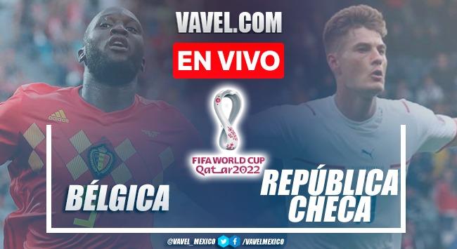 Goles y resumen Bélgica 3-0 República Checa en Rondas clasificatorias Qatar 2022