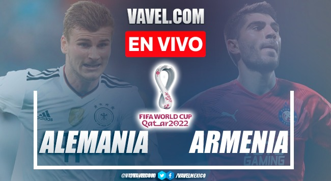 Goles y resumen del  Alemania 6-0 Armenia en Eliminatorias Qatar 2022