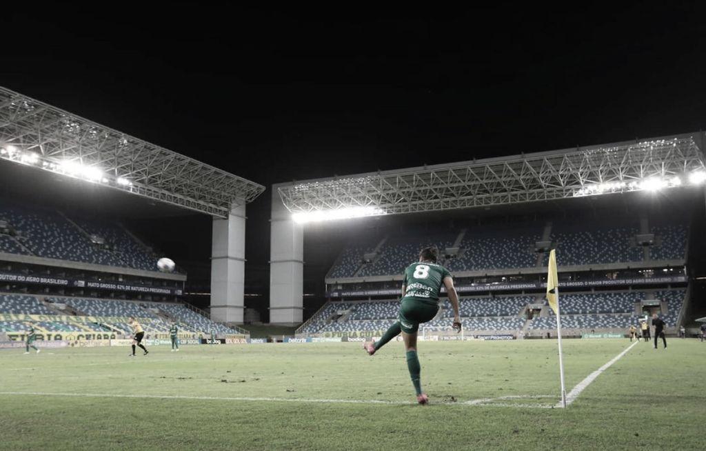 Cuiabá e Santos fazem duelo direto para fugir da zona de rebaixamento