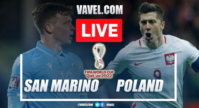 Goals and Highlights: San Marino 1-7 Poland in FIFA 2022 World Cup Qualifiers