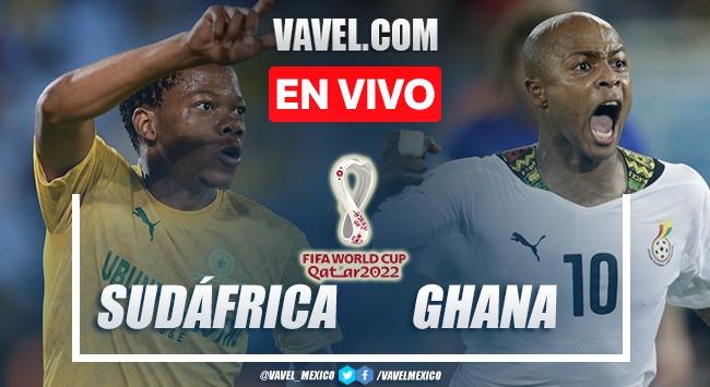 Goles y resumen del Sudáfrica 1-0 Ghana en Eliminatorias de Qatar 2022