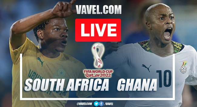 Goals and Highlights: South Africa 1-0 Ghana in 2022 World Cup Qualifiers