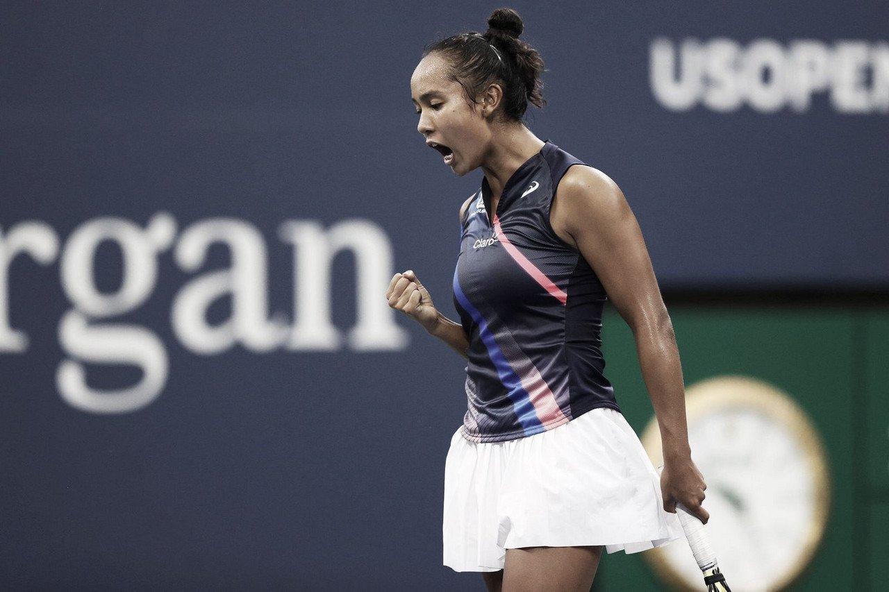 Leylah Fernandez busca grande virada contra Kerber e segue no US Open