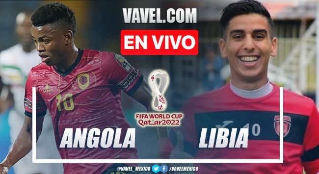 Goles y resumen del  Angola 0-1 Libia en Eliminatorias de Qatar 2022