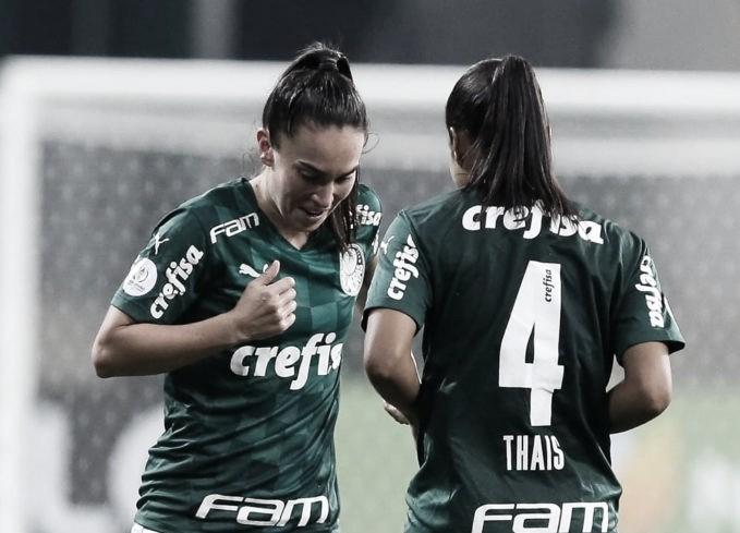 Defensoras Thaís e Agustina contribuem para boa campanha do Palmeiras