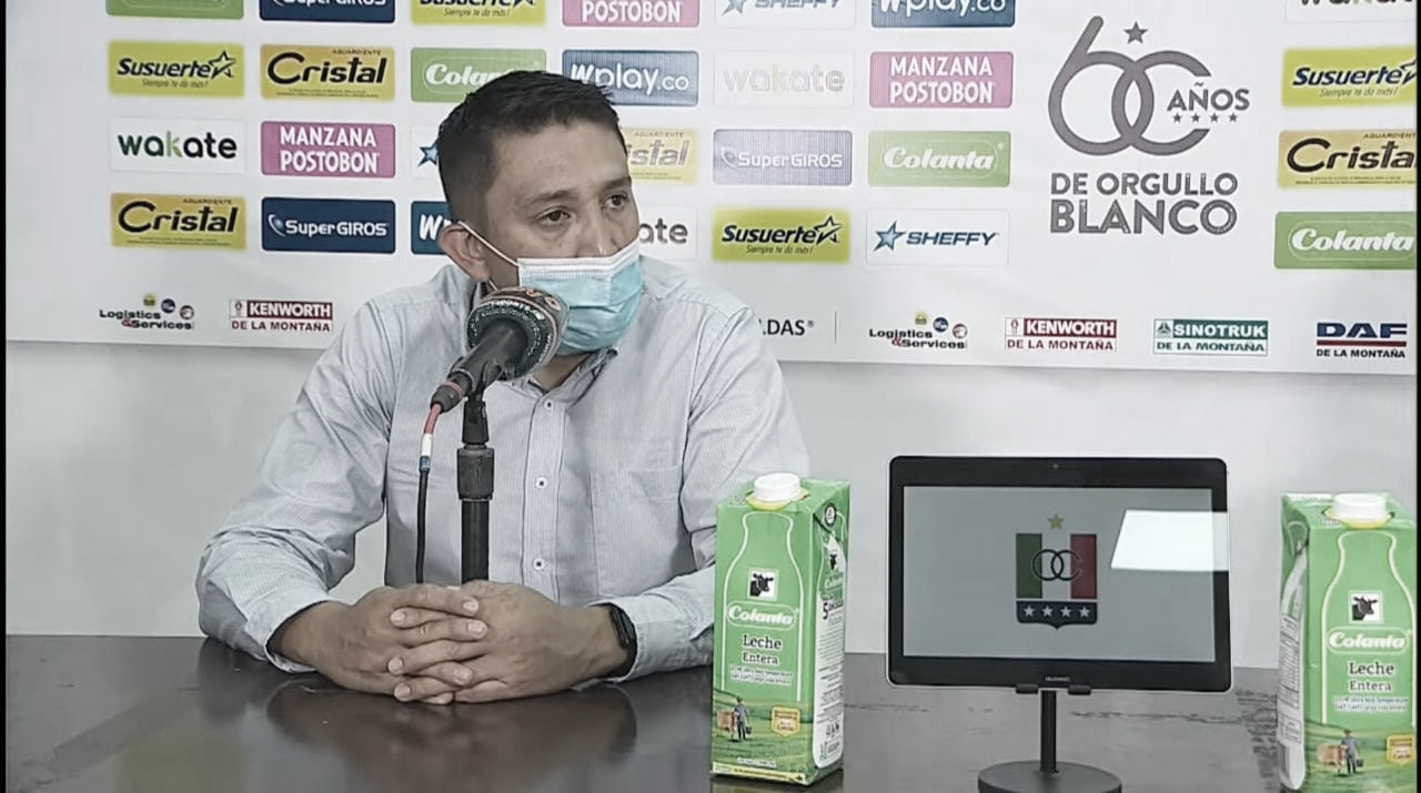 """Diego Corredor: """"Se plasmó en el terreno de juego gran parte de lo que trabajamos"""""""
