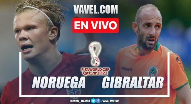 Goles y resumen del Noruega 5-1 Gibraltar en Eliminatorias Qatar 2022