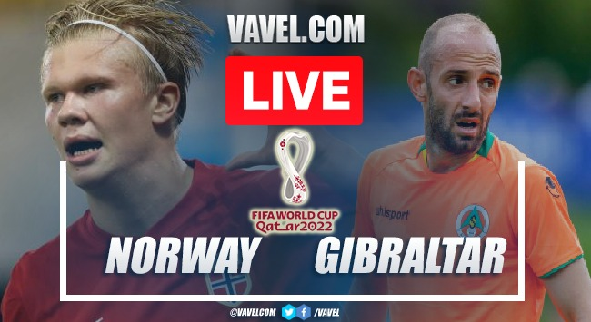 Goals and Highlights: Norway 5-1 Gibraltar in FIFA 2022 World Cup Qualifiers