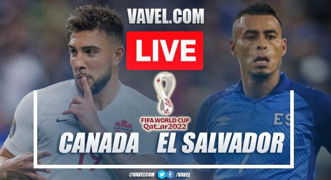 Canada vs El Salvador LIVE: Score Updates (3-0)