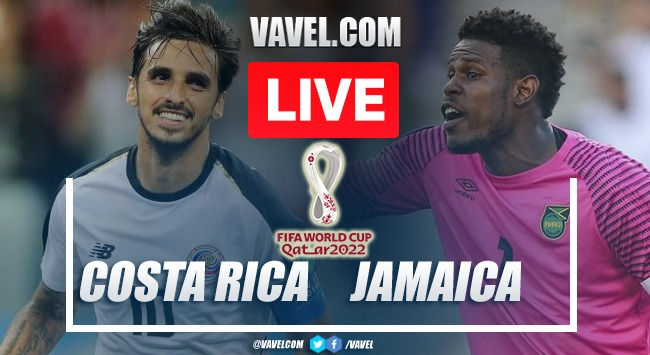 Goals and Highlights: Costa Rica 1-1 Jamaica in FIFA 2022 World Cup Qualifiers