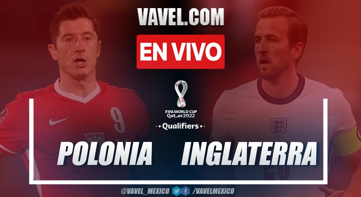 Resumen y goles: Polonia 1-1 Inglaterra en Eliminatorias Qatar 2022