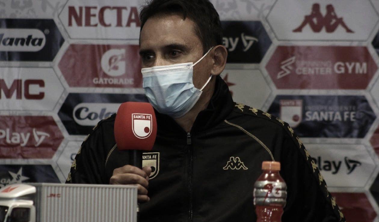 """Grigori Méndez: """"Ese es el ADN de lo que es un jugador de Santa Fe, la resiliencia"""""""