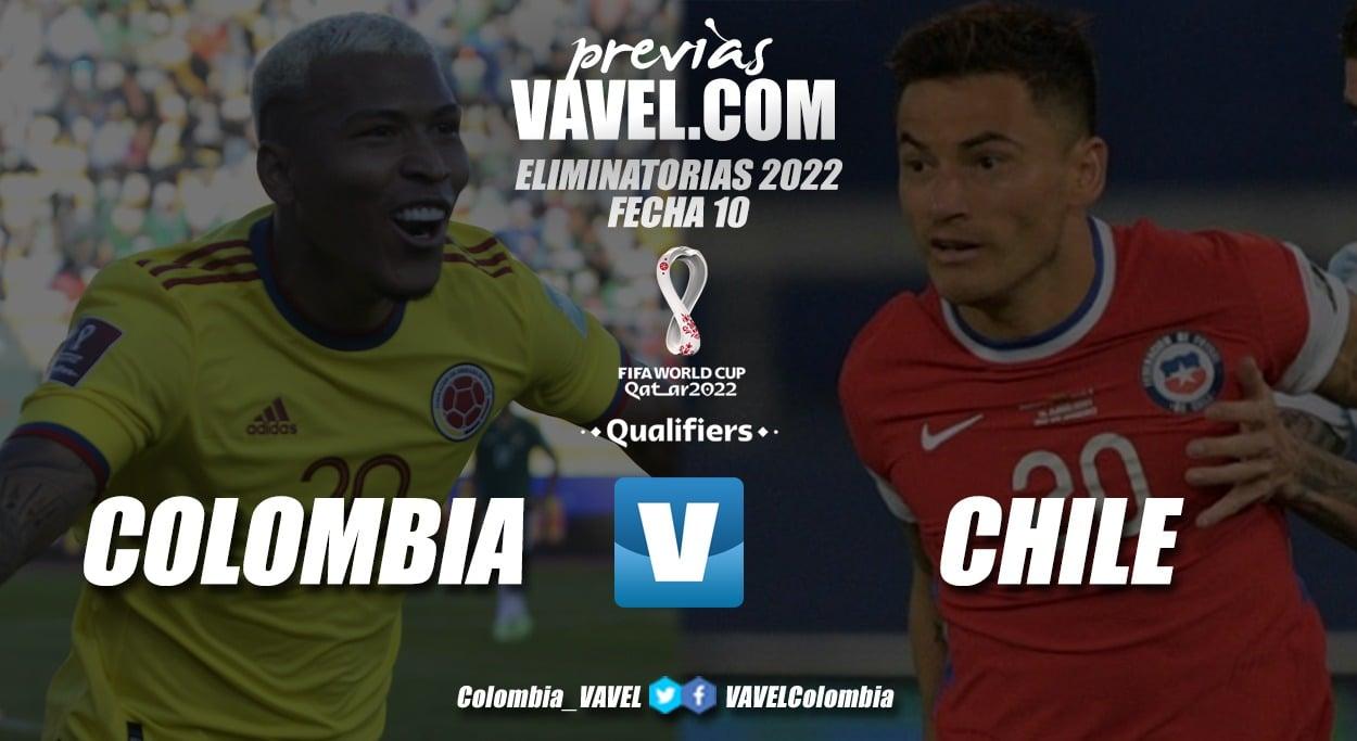 Previa Colombia vs Chile: lucha por encaminar el camino a Catar