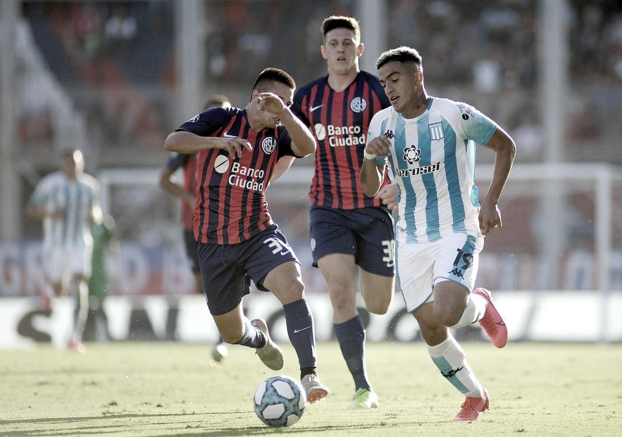 Racing quiere volver al triunfo en el clásico vs San Lorenzo