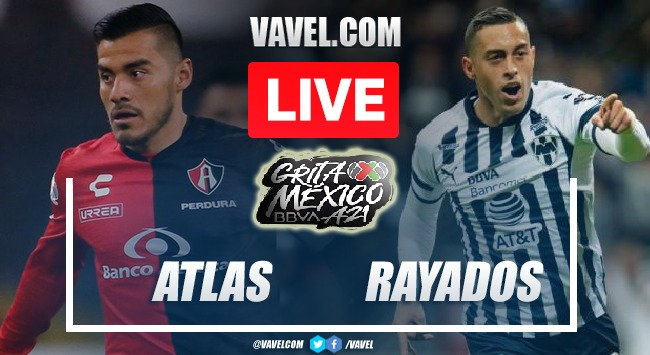 Goals and Haighlights of Atlas 2-1 Monterrey on Matchday 8 Apertura 2021