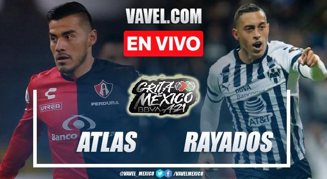 Goles y Resumen del Atlas 2-1 Monterrey en la jornada 8 del Apertura 2021