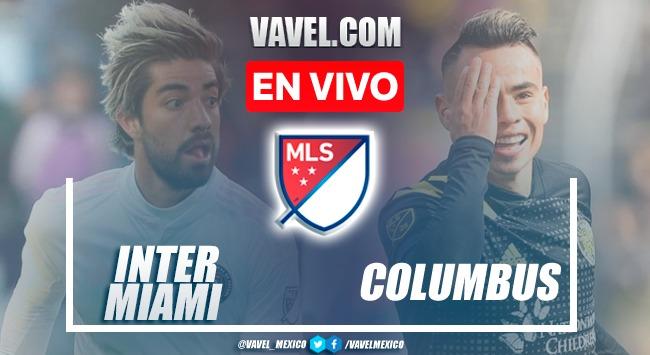 Goles y Resumen Inter Miami 1-0  Colombus Crew en MLS
