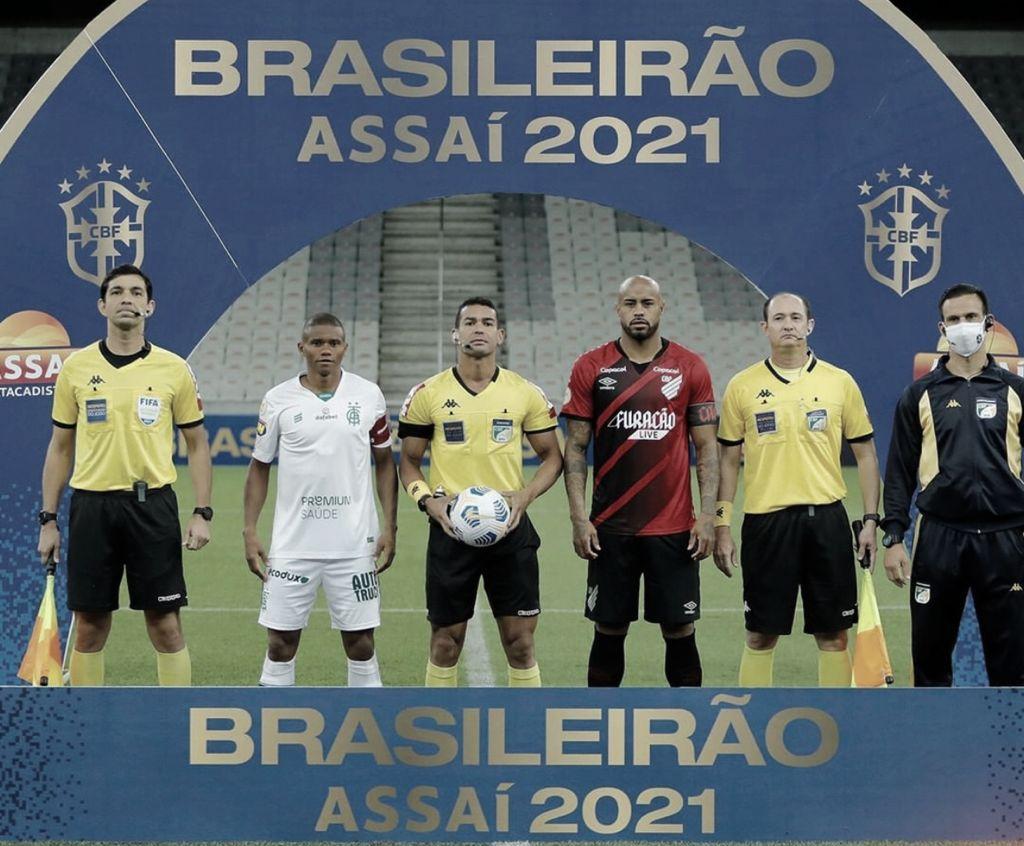 Gols e melhores momentos América-MG x Athletico-PR pelo Campeonato Brasileiro (2-0)