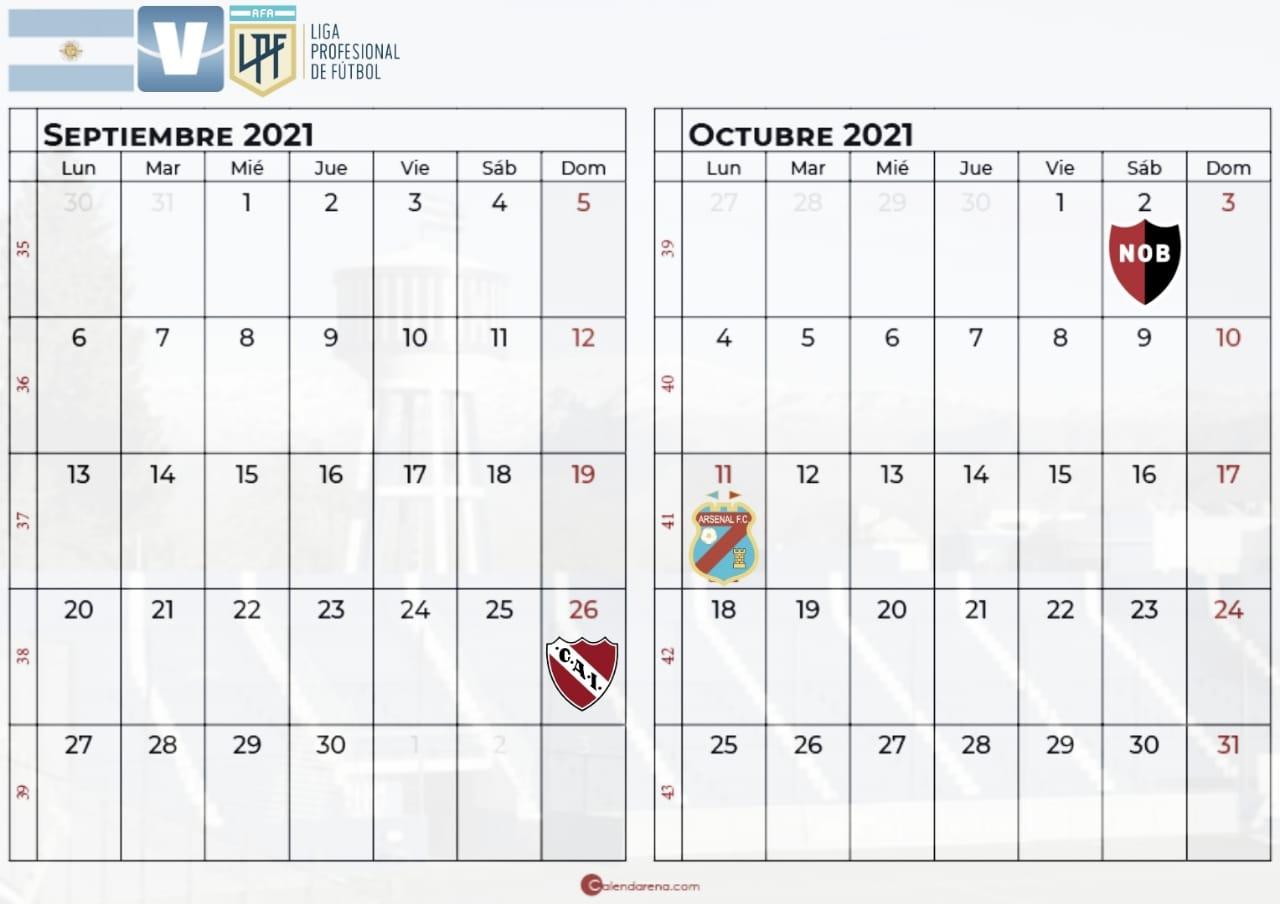 Confirmado: ¿Cuándo juega Godoy Cruz por la fecha 13, 14 y 15?