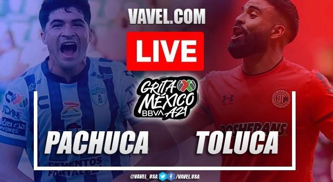 Goals and Highlights: Pachuca 1-2 Toluca in Liga MX 2021