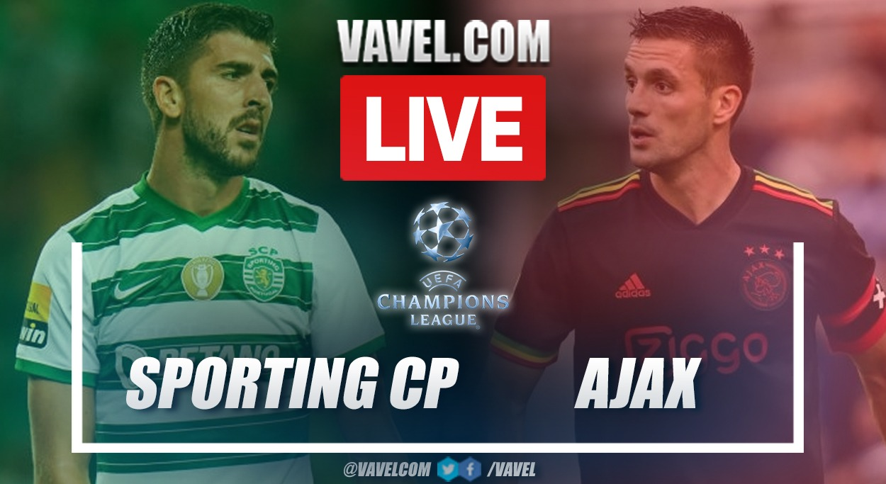 Highlights and goals: Sporting Lisbon 1-5 Ajax in UEFA Champions League 2021-22