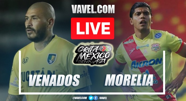 Goals and Highlights: Venados 0-1 Atletico Morelia in Liga Expansion MX 2021