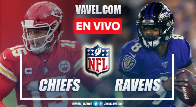 Resumen y Touchdowns del Kansas City Chief 35-36 Baltimore Ravens en NFL 2021