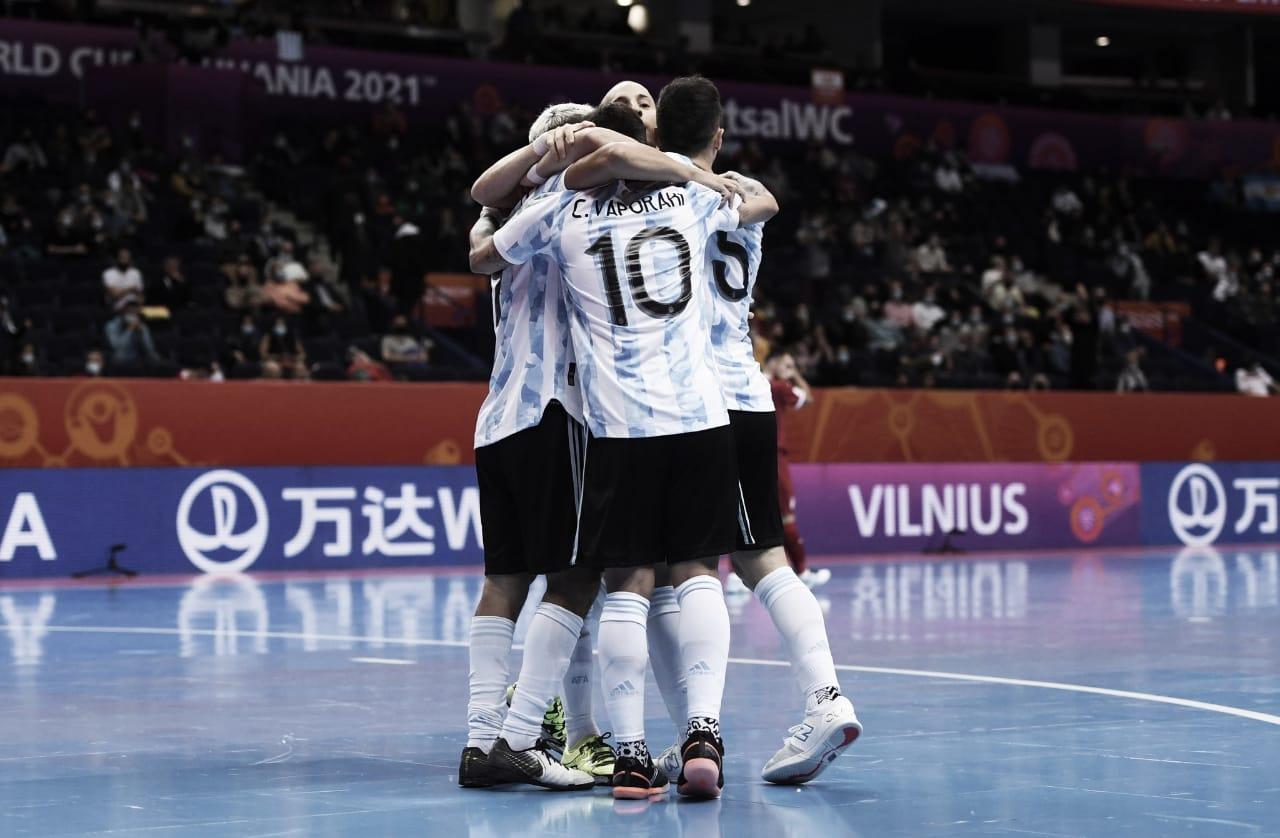 Victoria argentina y clasificación a octavos