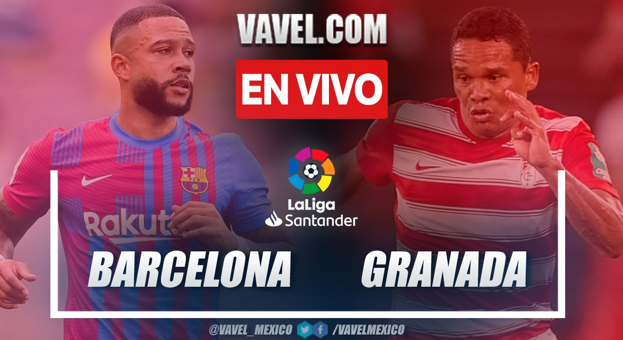 Resumen y goles: FC Barcelona 1-1 Granada CF en la fecha 5 por La Liga 2021-22
