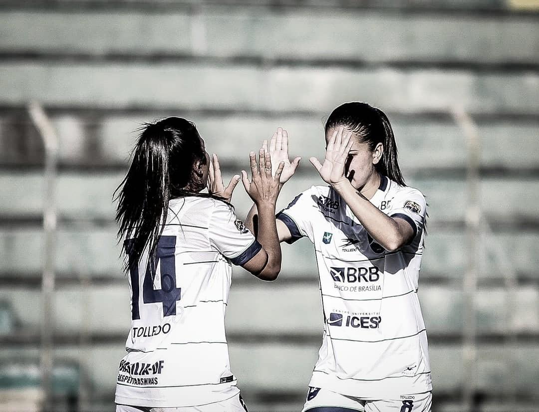 Karla Alves e Katielle vivem expectativa de estrear no Candangão pelo Minas Brasília