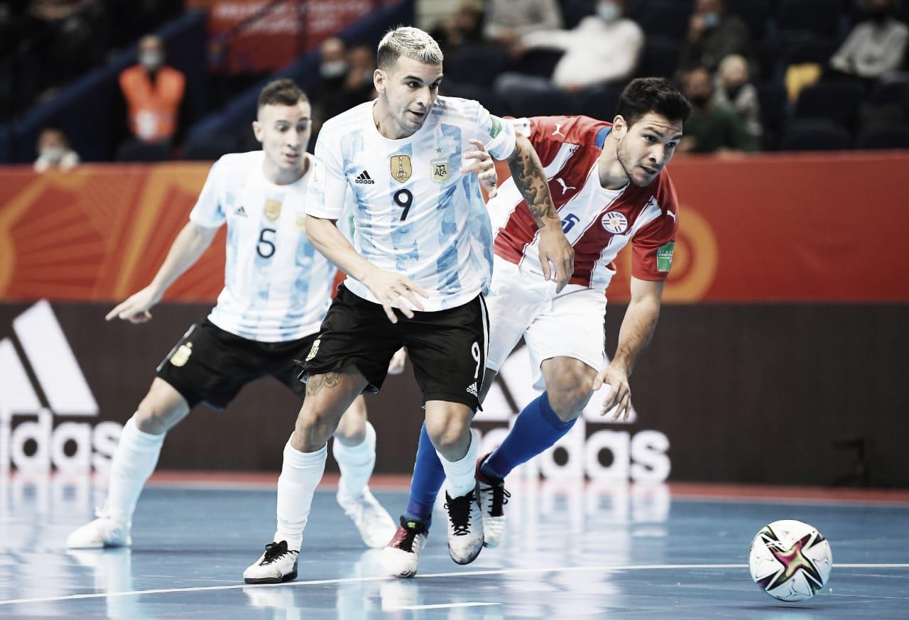 Argentina golea y está entre los 8 mejores del mundo