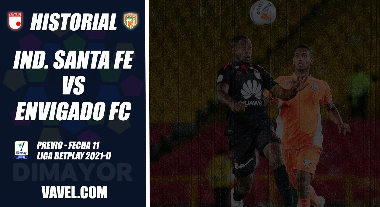 Independiente Santa Fe, análisis del rival: Envigado F.C. (Fecha 11, Liga 2021-II)