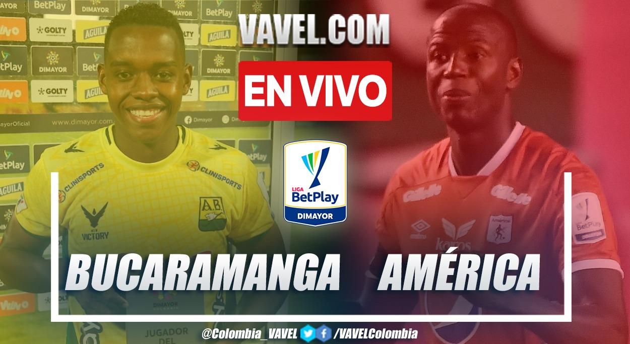 Resumen Bucaramanga vs. América 2-1 en la fecha 11 por Liga BetPlay 2021-II