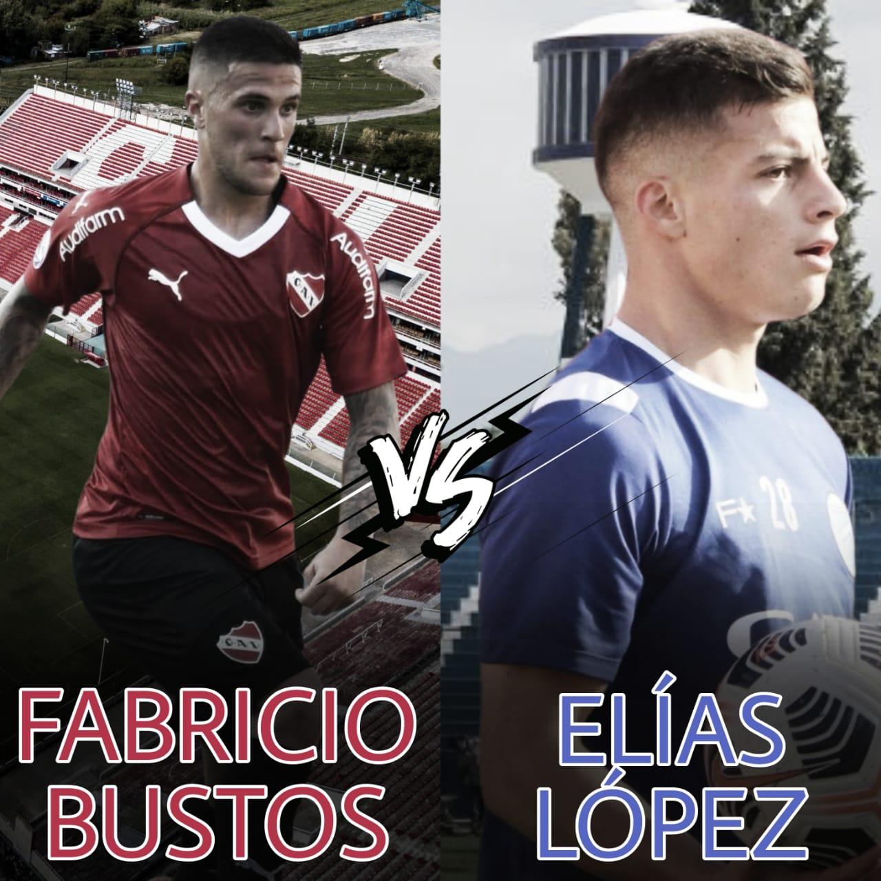Fabricio Bustos vs Elías López: Laterales al ataque